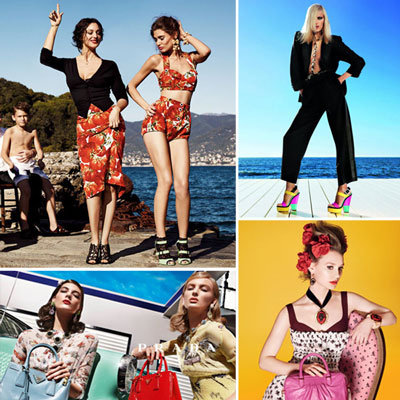 All the Latest Spring 2012 Ads, Part II — Prada, Dolce & Gabbana, Giuseppe Zanotti, and More