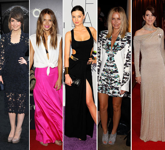 Pictures of the Best Dressed Australian Celebrities Lara Bingle, Rose Byrne, Crown Princess Mary of Denmark
