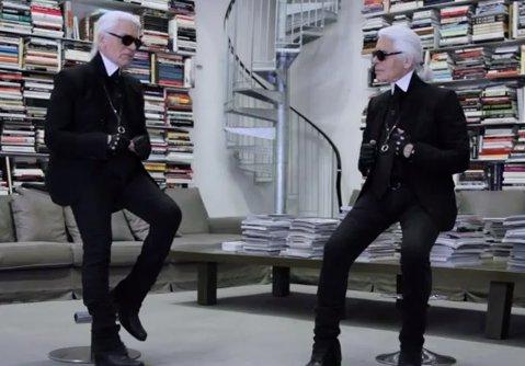 Karl Interviews Himself, Fashion News January 26, 2012