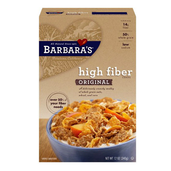 10 Cereals With 8 Or More Grams Of