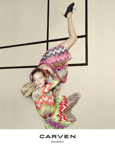Carven Spring 2012 Ad Campaign