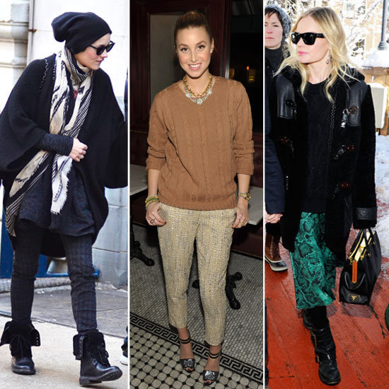Celebrity Trend: Statement Trousers. See Olivia Palermo, Rachel Bilson, Kate Bosworth and more Wear the Trend!