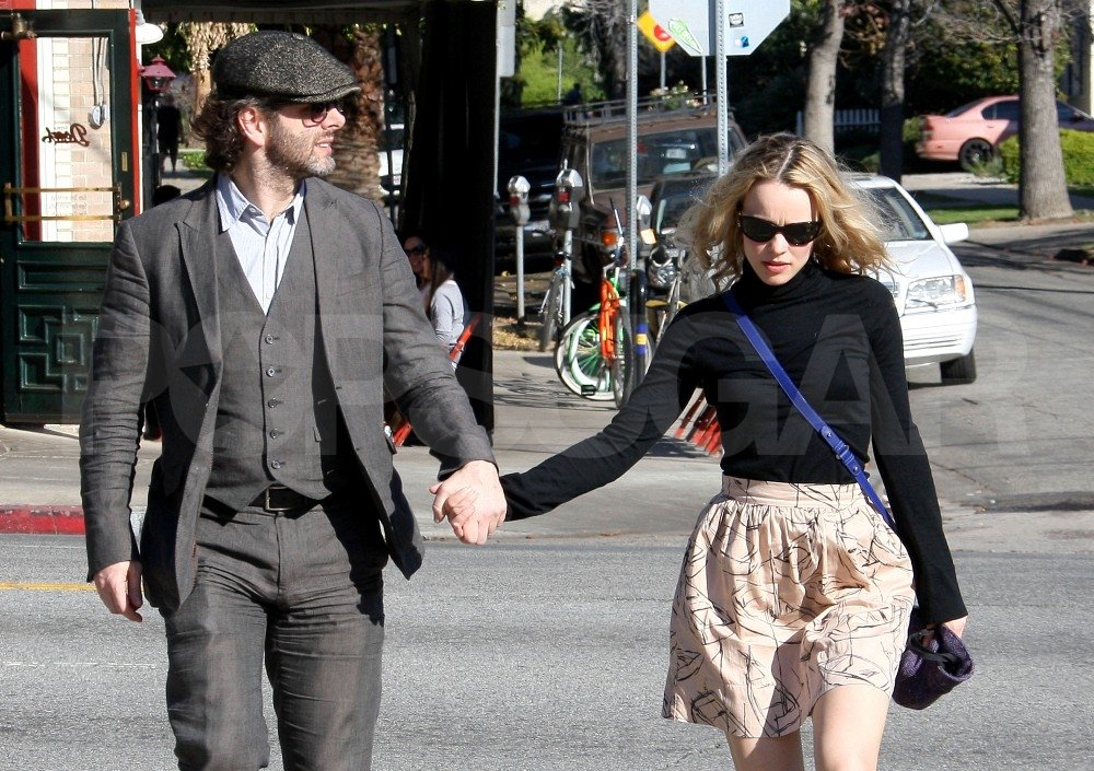 Rachel McAdams and Michael Sheen ate at Little Dom's.