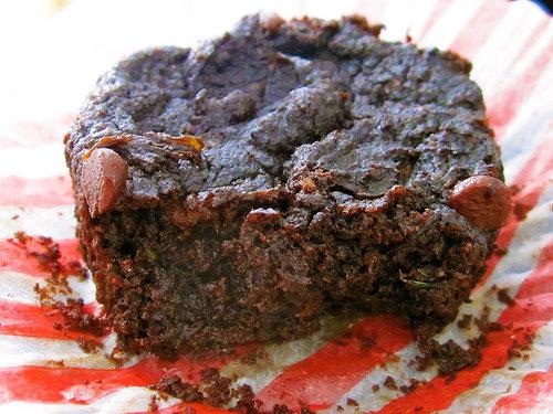 Chocolate Zucchini Muffins (vegan and gluten-free)