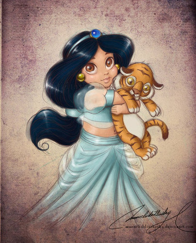Child Princess Jasmine