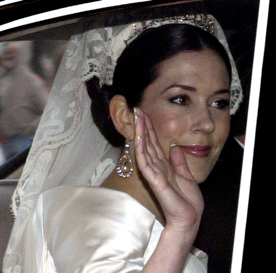 May 2004: Her Wedding to Danish Crown Prince Frederik