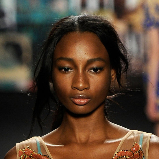 Tracy Reese Fall 2012: Hair and Makeup Look