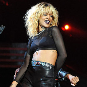 Rihanna and Coldplay 2012 Grammys Duet Performance Pictures