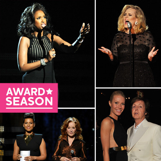 Adele's Sweep, a Prayer For Whitney Houston, and More 2012 Grammys Highlights