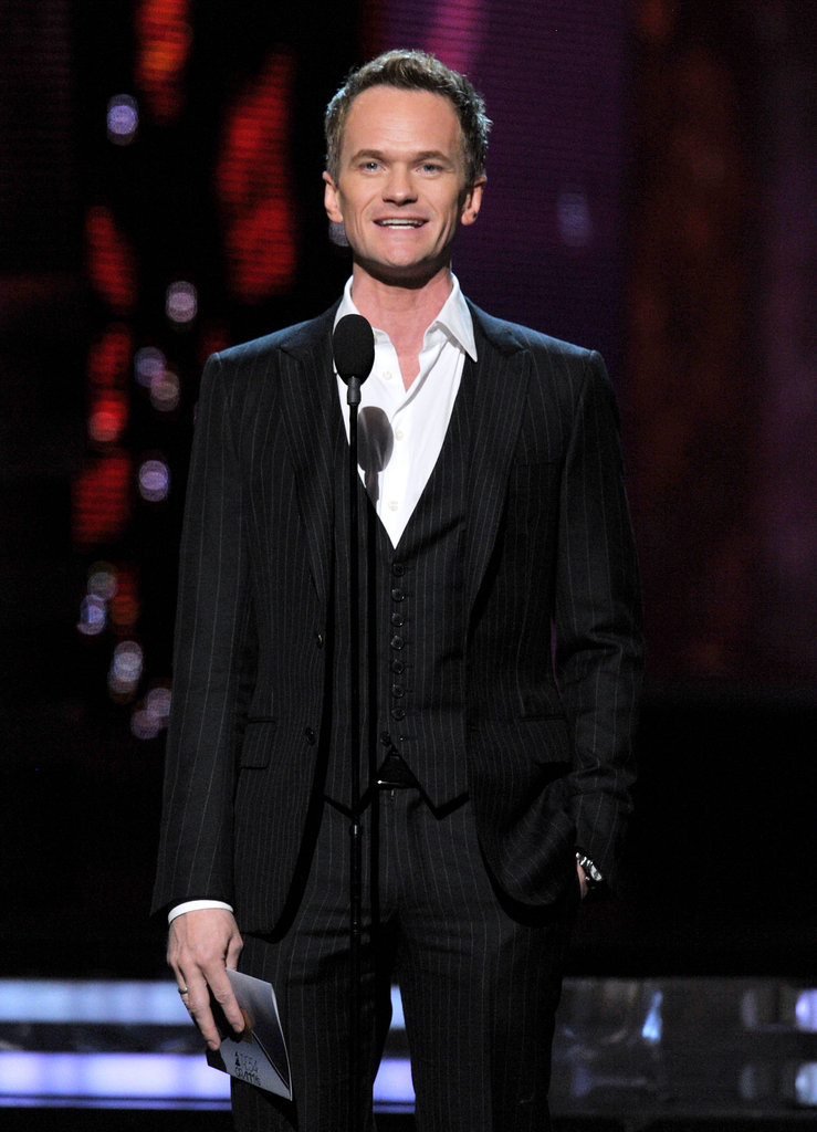 Neil Patrick Harris was onstage at the Grammys.