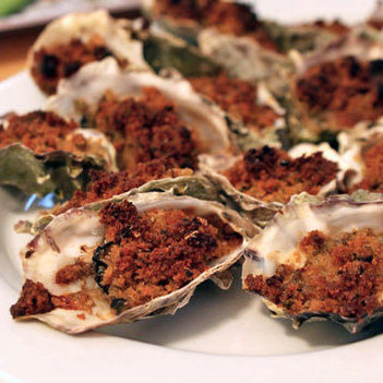 Baked Oysters New Orleans Style
