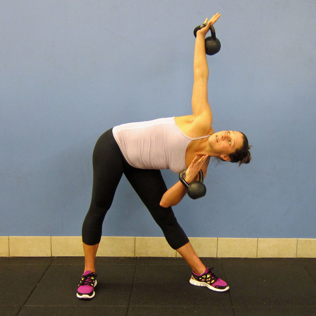 Exercise Kettlebell Figure Eight: How To Do Windmills With Kettlebells