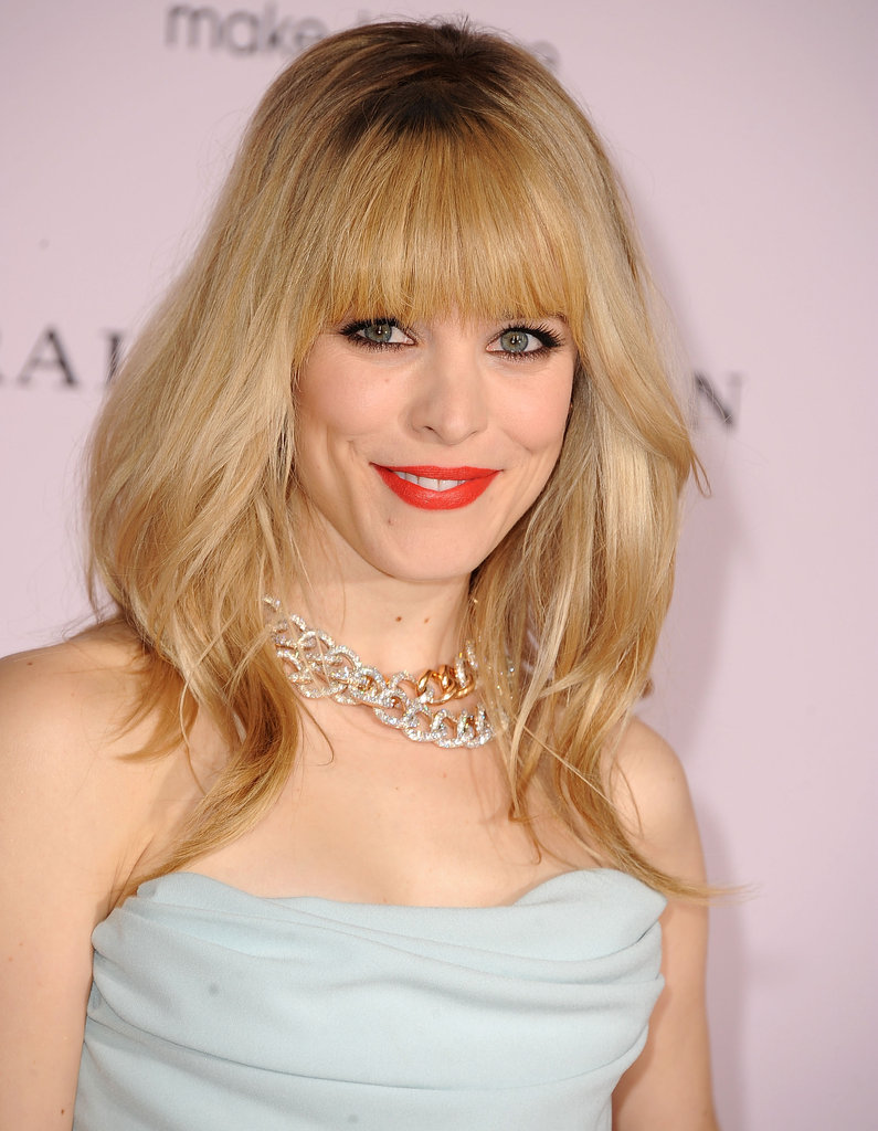Rachel McAdams in Vivenne Westwood at The Vow premiere in LA.