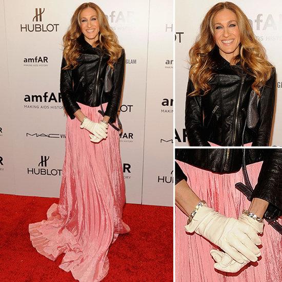 Sarah Jessica Parker Pink Gown