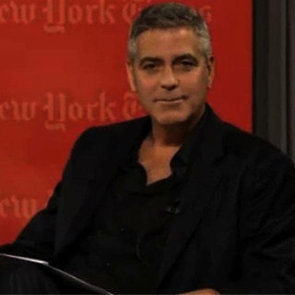 George Clooney New York Times Interview (Video)