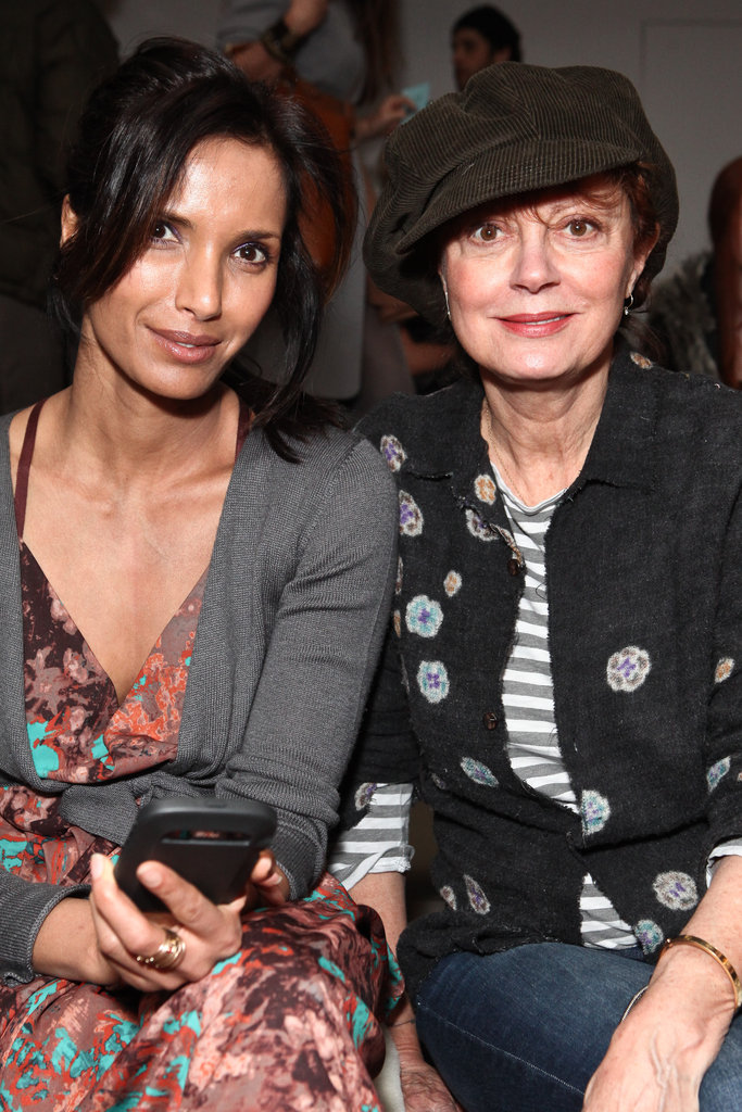 Padma Lakshmi and Susan Sarandon at Costello Tagliapietra