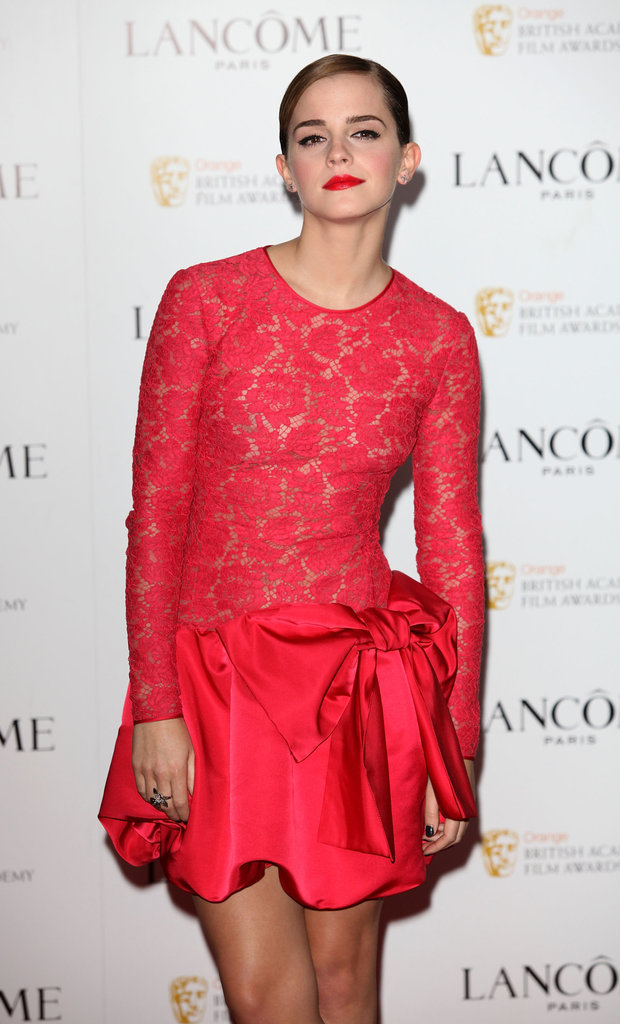 Emma Watson stepped out at The Savoy.