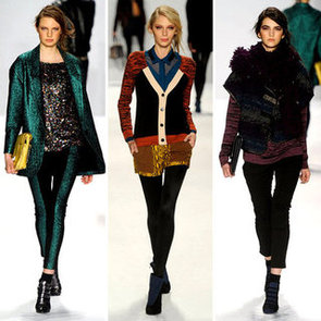 Runway Review and Pictures of Rebecca Minkoff Fall 2012 New York Fashion Week Runway Show