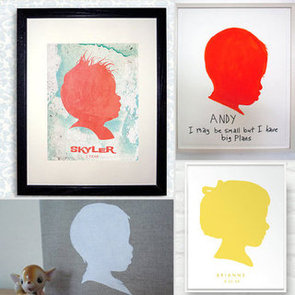 Custom Silhouettes of Your Kids