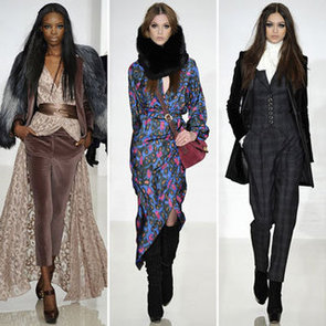 Review and Pictures of Rachel Zoe Collection 2012 Fall New York Fashion Week Runway Show