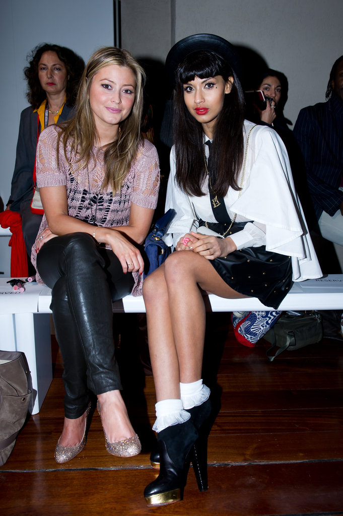 Holly Valance and Jameela Jamil at Zoe Jordan