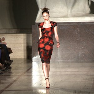 Zac Posen Fall 2012 Runway With Coco Rocha & Lindsey Wixson