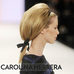 Carolina Herrera Fall 2012 Hair and Headbands