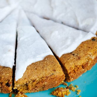 Gluten-Free Chocolate Chip Cookie Cake Recipe