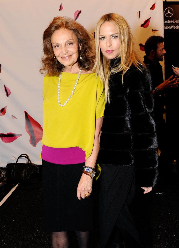 Rachel Zoe chatted up Diane von Furstenberg over the weekend.