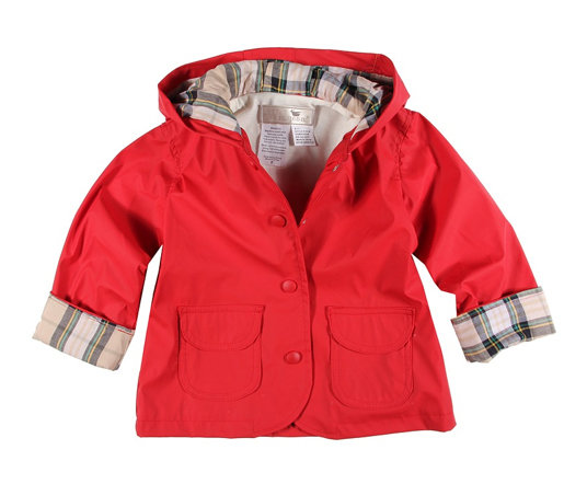 Widgeon Kids Plaid Lined Raincoat ($25)