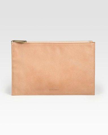 Jil Sander Envelope iPad Clutch ($510)
