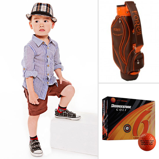 Golf-Inspired Clothing and Accessories For Boys
