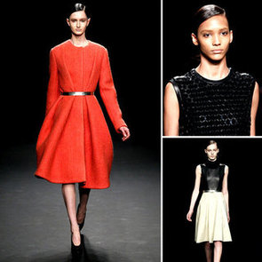 Review and Pictures of Calvin Klein 2012 Fall New York Fashion Week Runway Show