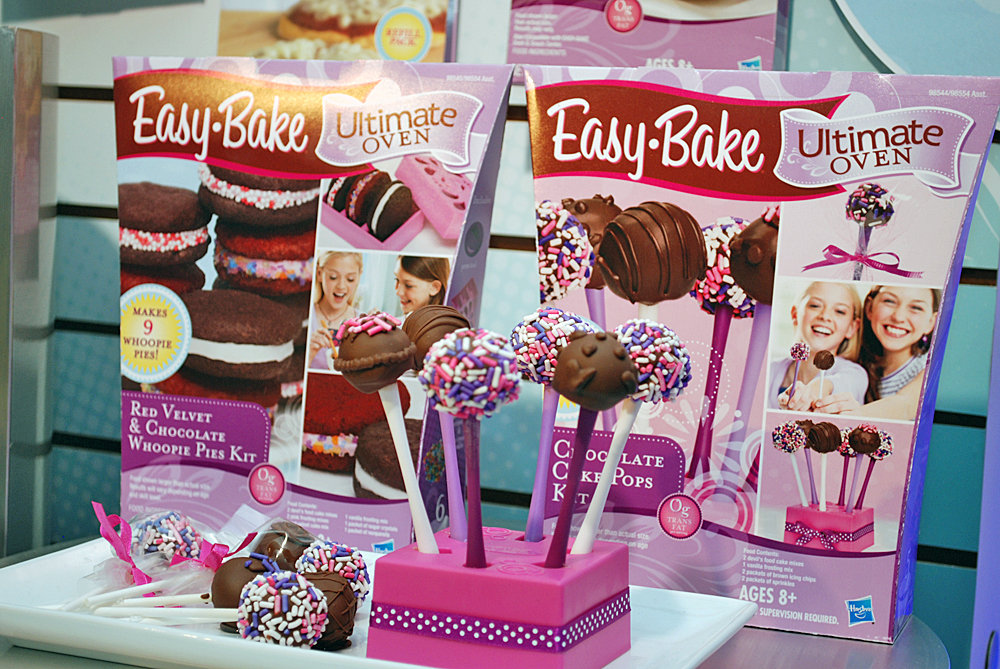 Easy Bake Oven Cake Pops