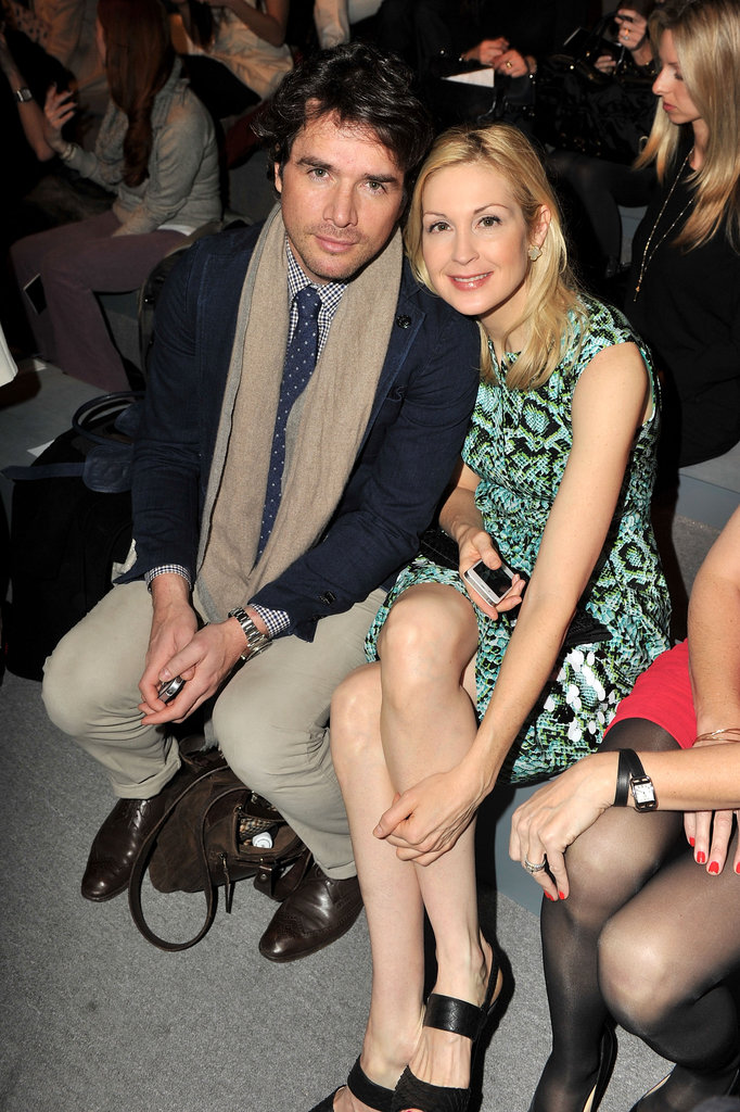 Matthew Settle and Kelly Rutherford at Nanette Lepore