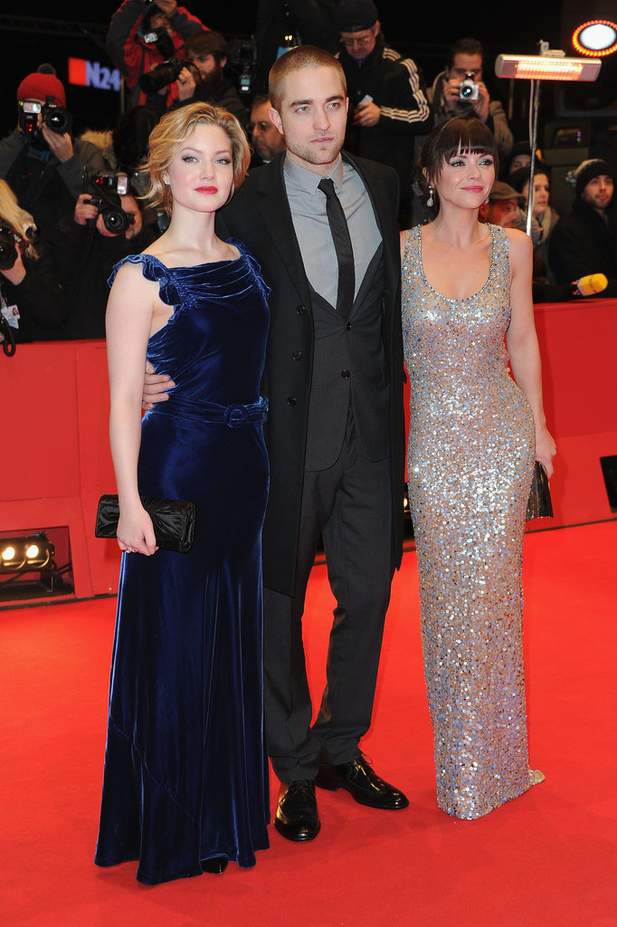 The trio was all smiles on the red carpet.