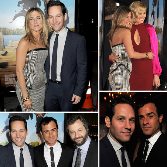 Jennifer Aniston and Justin Theroux Pictures at Wanderlust