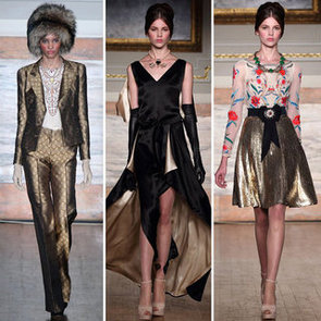 Review and Pictures of Temperley London London Fashion Week Runway Show