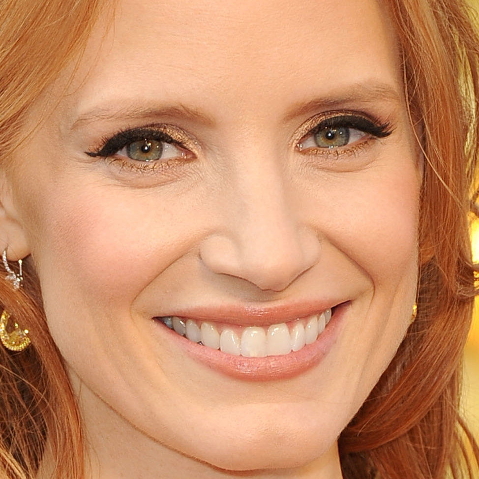Jessica Chastain: Her Oscars Makeup