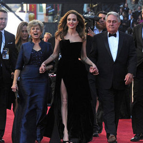Angelina Jolie and Brad Pitt Pictures at 2012 Oscars with Brad's Parents
