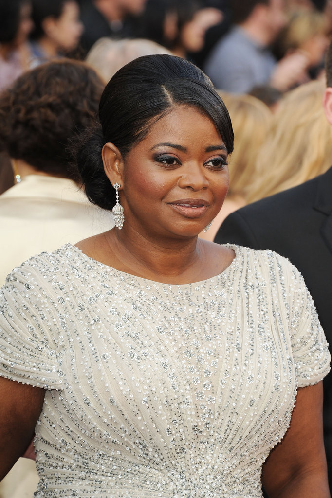 Octavia Spencer Shines Bright on the Oscars Red Carpet