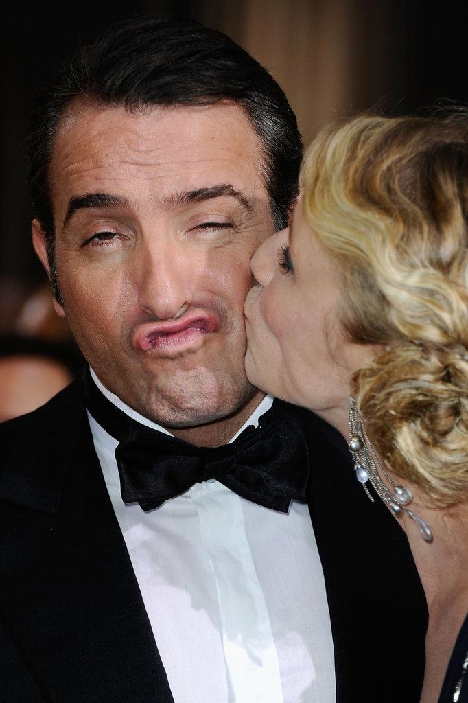 Jean Dujardin and Alexandra Lamy