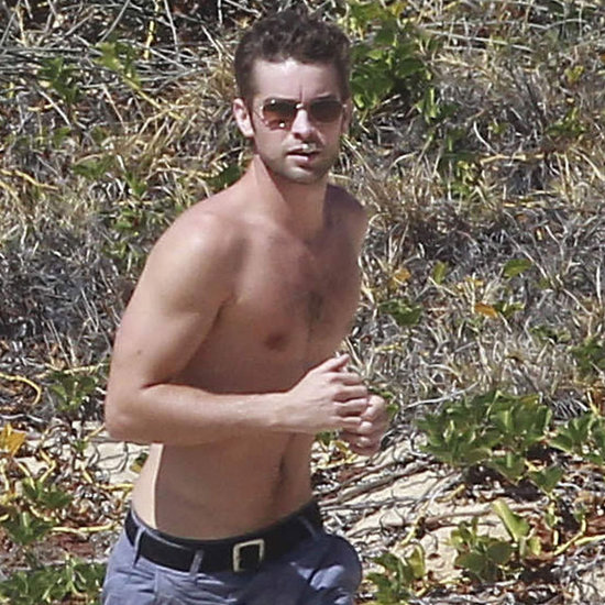 Chace Crawford Shirtless Pictures With Tony Romo