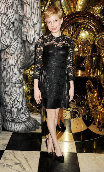 Michelle Williams at Mulberry's Dinner