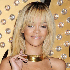 Celebrities Wearing the Gold Nail Polish Trend