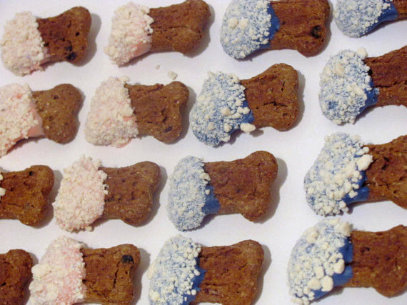 All-natural prince and princess treats are lavishly dipped in yogurt royal icing, then sprinkled with chopped yogurt chips.