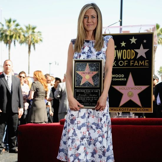 Jennifer Aniston Hollywood Walk of Fame Video