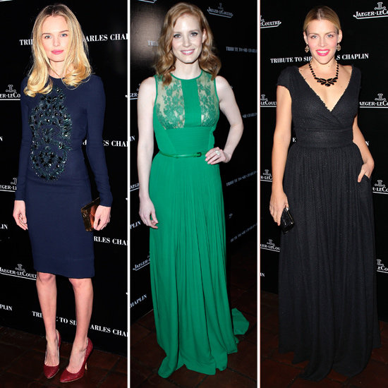 Kate Bosworth, Chelsea Handler, and Jessica Chastain Celebrate Charlie Chaplin and Oscar Week
