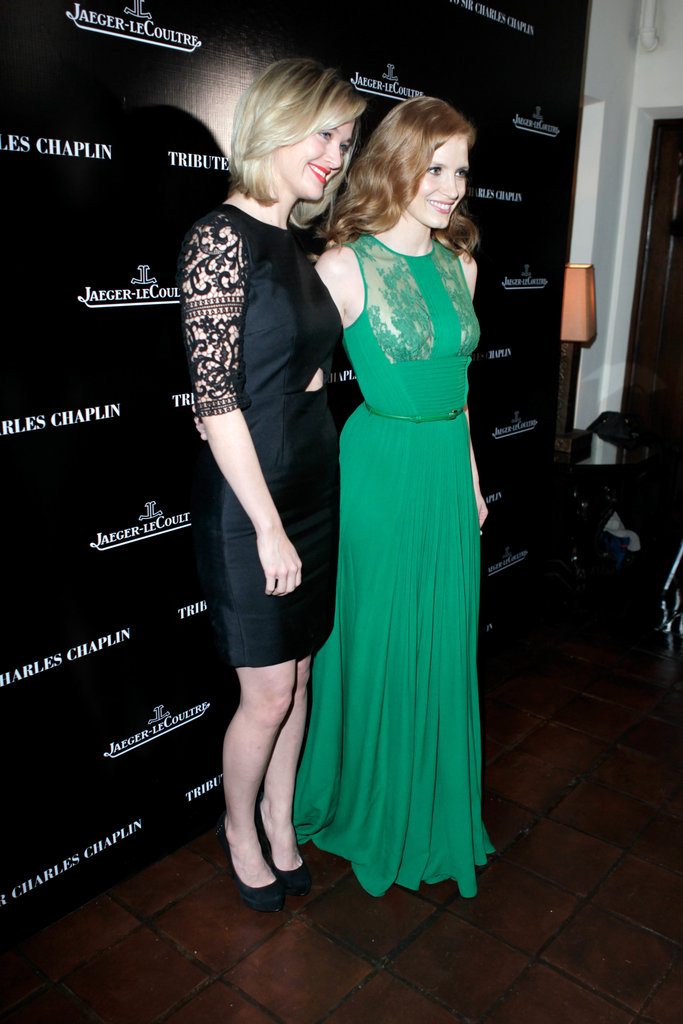 Jessica Chastain joined up with her pal Jess Weixler.