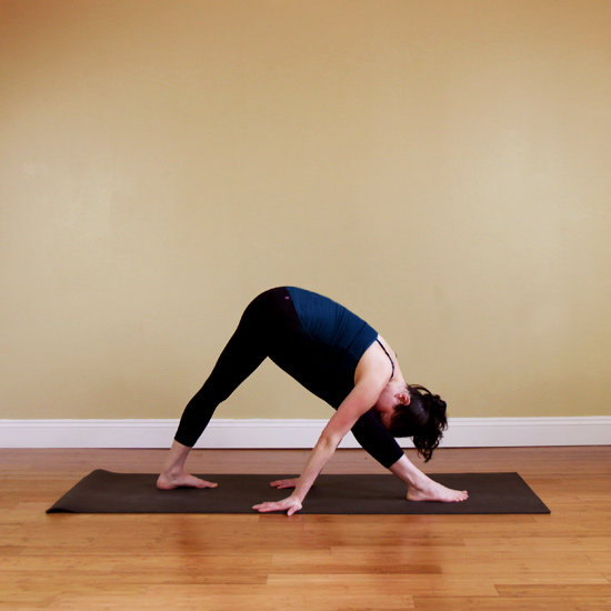 Intense side stretch build strength and flexibility for Floor yoga stretches